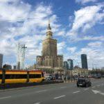 ワルシャワの路面電車と地下鉄