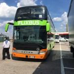 スロベニアからイタリアへバスで移動