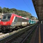 イタリアからフランスへ鉄道で移動