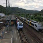 ニュルンベルクからケルンへ鉄道で移動