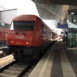 スロバキアからオーストリアへ鉄道で移動