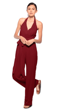 Joanna August jumpsuit at Masako Formals Hawaii