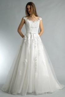 Basix Black Label lace and soft tulle wedding dress