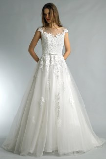 Basix Black Label lace and soft tulle wedding dress