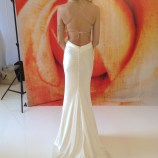 Palazzo by Jane White silk low back wedding dress