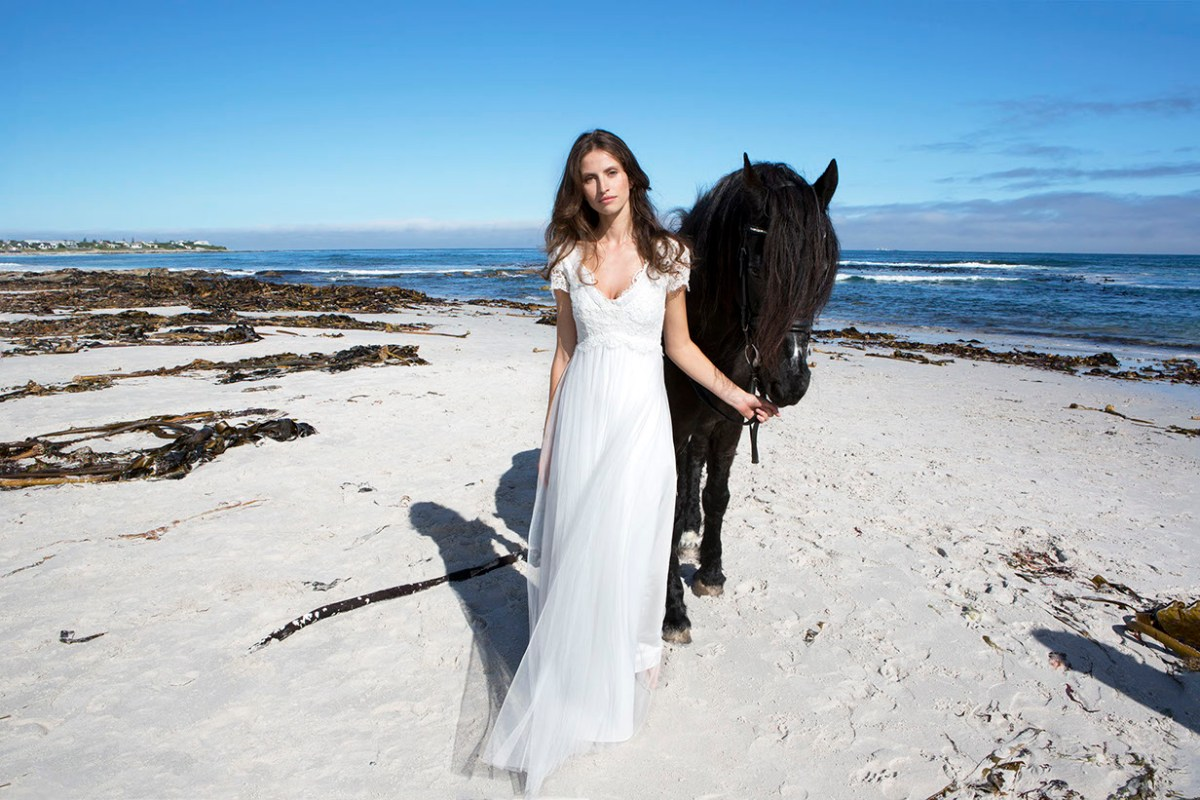 Hawaii beach wedding dress – Masako Formals Hawaii