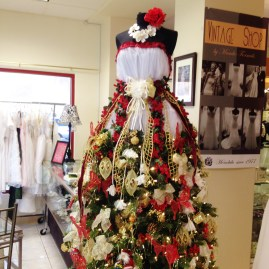 Masako Formals Dress Form Christmas Tree 2015