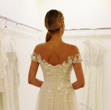 Tadashi Shoji Wedding Gown