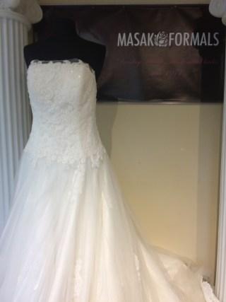 Victoria's Bridal 8296 sz14 IVY $1379 (2)
