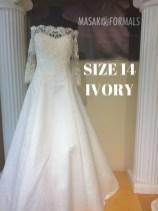 Victorias Bridal 3283 sz14 IVY 999 (1)