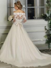 Victoria's Bridal 3283 sz14 IVY $999 BACK (2)