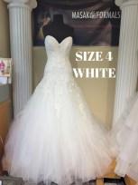 Sophia Tolli Y21142 size 4 Diamond White 1575 (1)