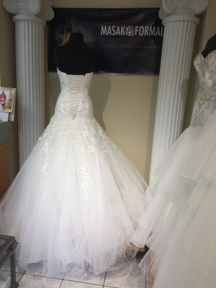 Sophia Tolli Y21142 size 4 Diamond White $1575 (4)