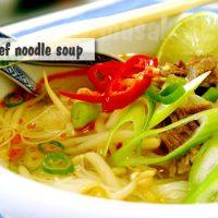 BoPho Beef noodle soup