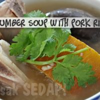 Old Cucumber Soup with Pork Ribs