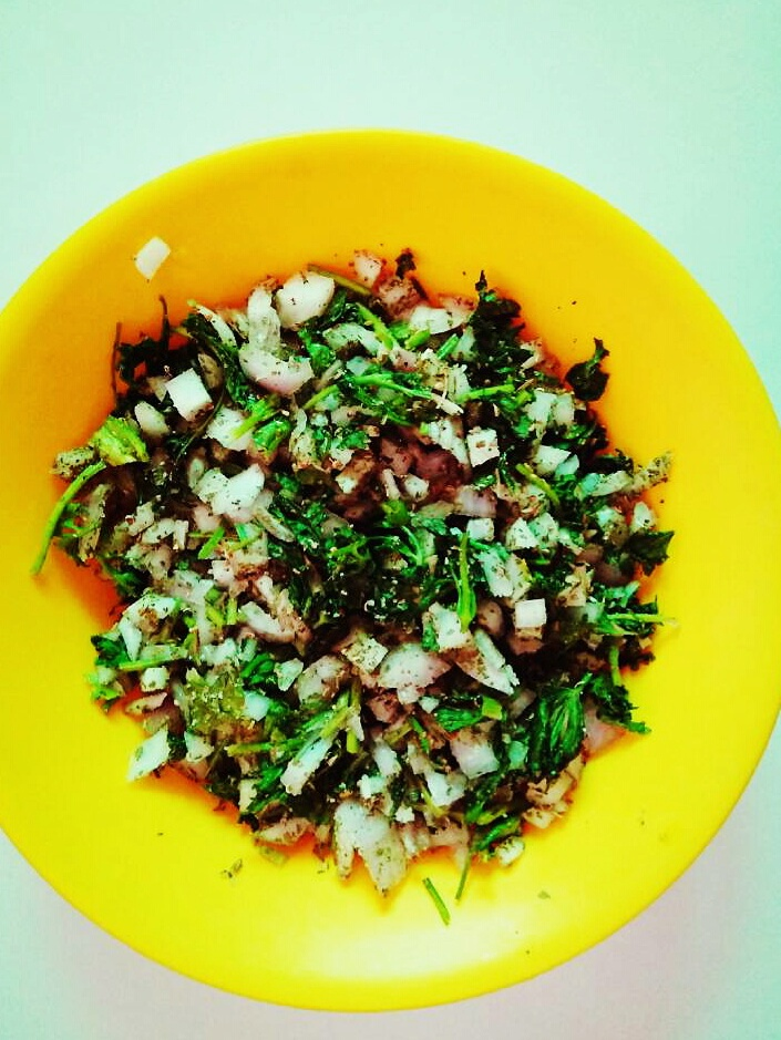 onion-corriander-stuffing-for-parathas
