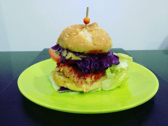 Veg-burger-body