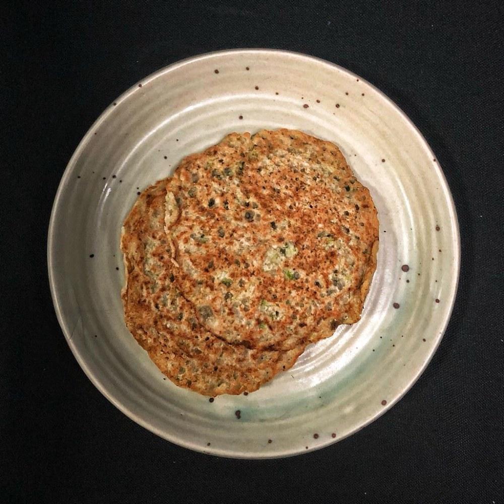 Broccoli-Quinoa-Pancakes