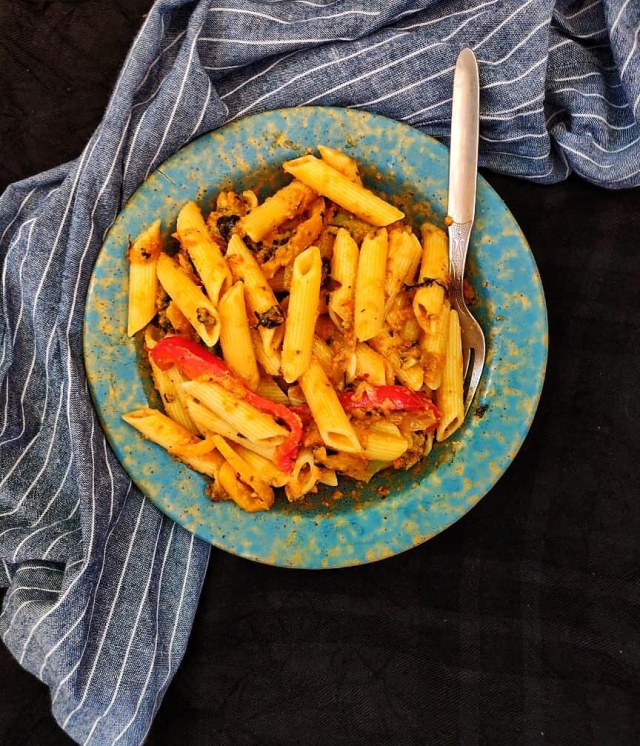 Red Bell_Pepper_Tomato_Pasta