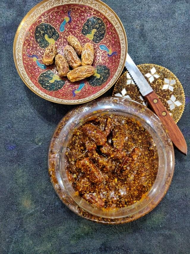 Chuare_ka_Achar_(Dry_Dates_Pickle)