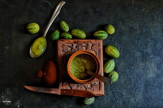Rajasthani Kachari ki chutney