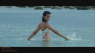 Mugdha Godse Rises from water in the film HELP - YouTube(3)[20-52-35]