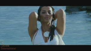 Mugdha Godse Rises from water in the film HELP - YouTube(3)[20-53-06]