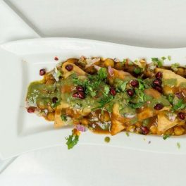 vegan food - samoosa