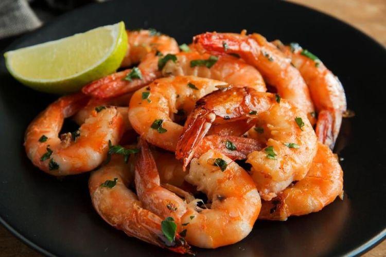 Garlic-Shrimp--Fish tales