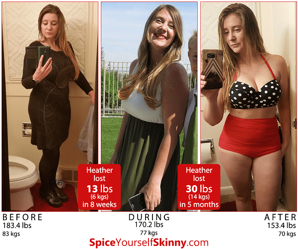 If Heather can lose 30 lbs in 5 months, so can you!