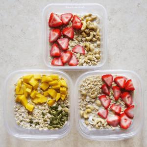 Vegan Meal Plan Easy Overnight Cinnamon Oats