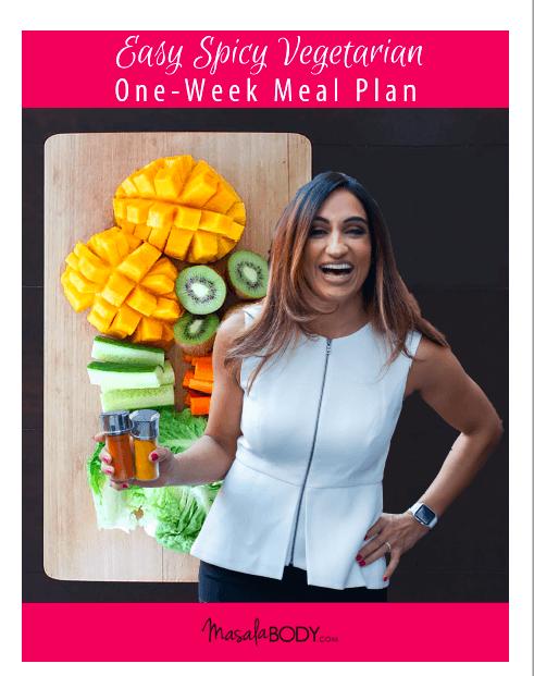 Easy Spicy One Week Vegetarian Meal Plan
