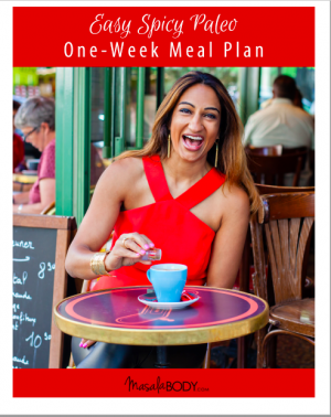 Easy Spicy Paleo Meal Plan Ebook Cover