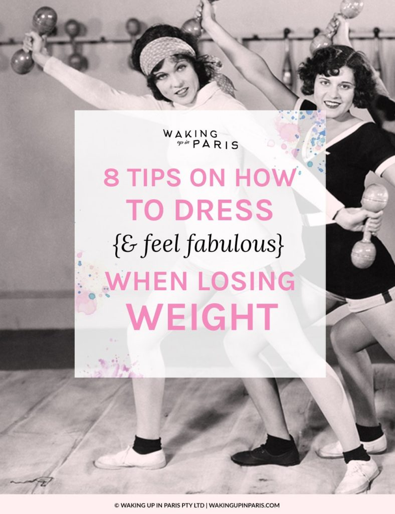 8 tips on how to dress when losing weight title image large