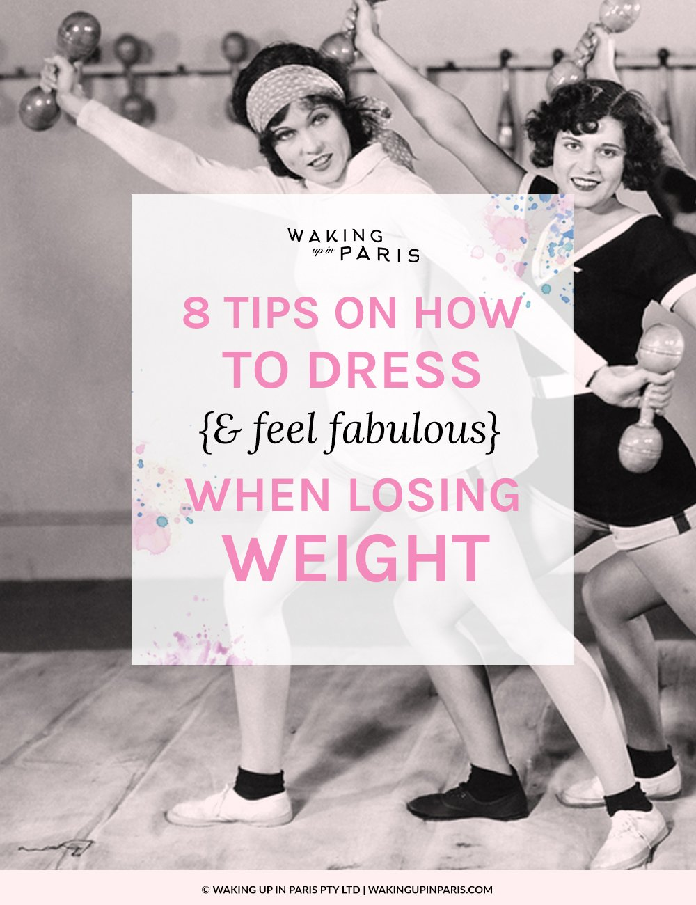 8 tips on how to dress when losing weight {& feel fabulous}