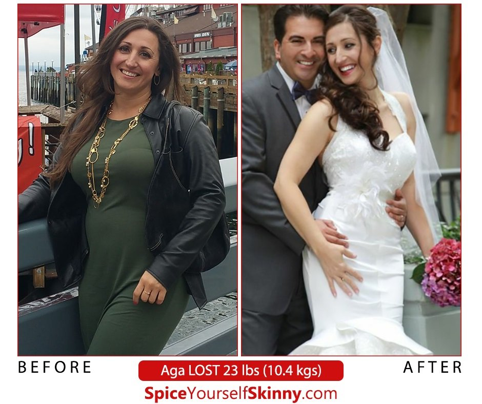 Ultimate guide on how to lose weight without exercise - Aga did it!
