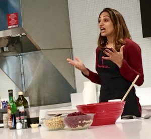 I'm getting ready to do a healthy holiday recipes demo for Nestle employees!
