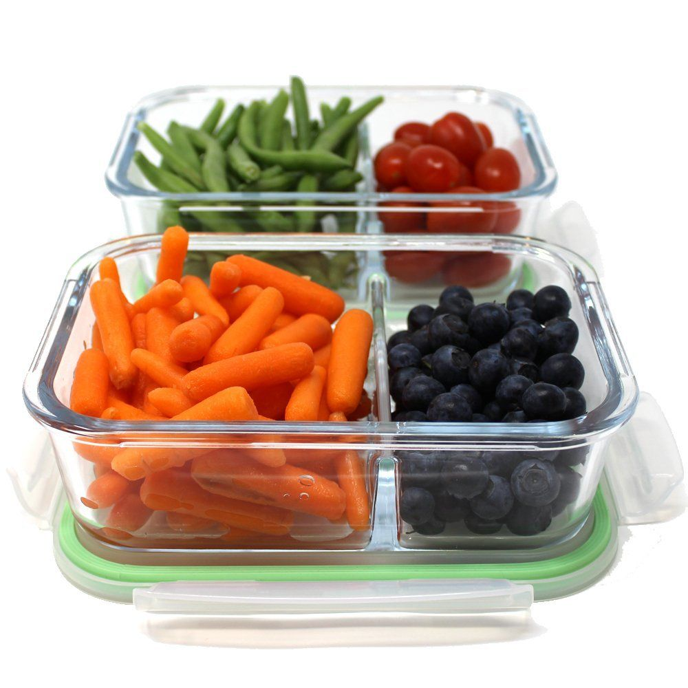 BPA Free Storage Containers For Your Prepped Meals