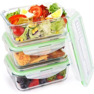 BPA Free Storage Containers Symbom Glass Food Storage Containers
