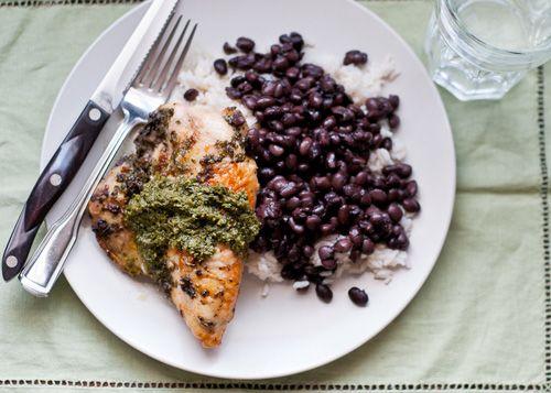 Brazilian-style black beans recipe