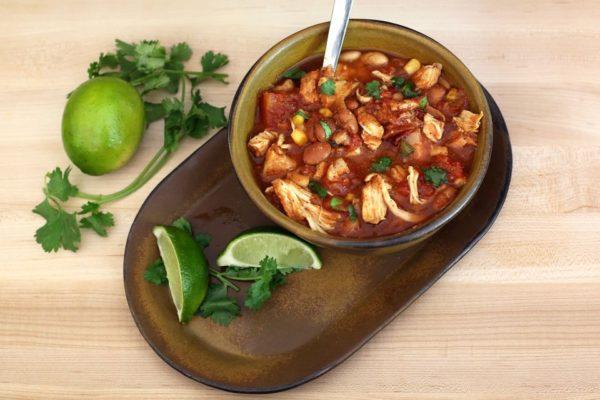 potluck party chicken bean chili recipe