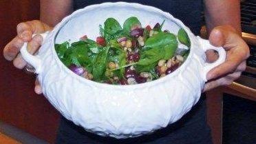 No Cook 3-Bean Salad