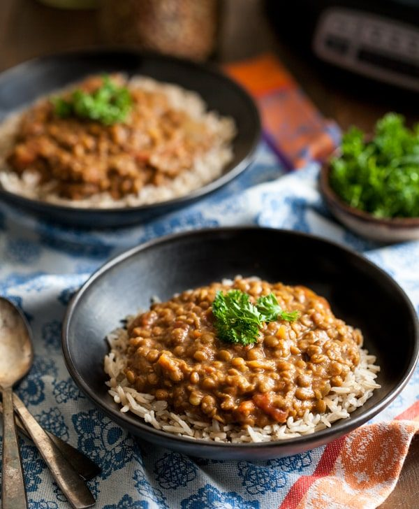 Vegan Masala Lentils 6 Vegan Crock Pot Recipes You Ll Love