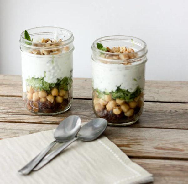 Healthy Eating at Work_Minty Yogurt Parfait