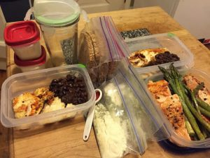 How to eat healthy while traveling for work
