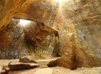 Naida caves walkway