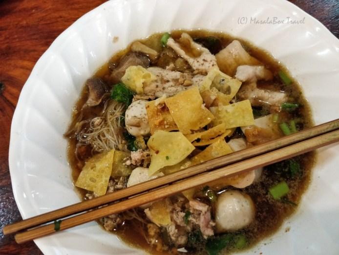 Thailand noodle soup