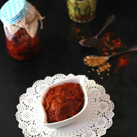 Tangy and Delicious Manga Thokku Pickle