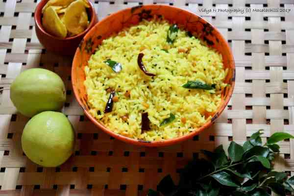How to make South Indian Lemon Rice