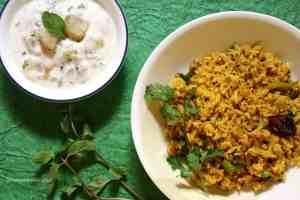 Phodnicha Bhaat (Seasoned Rice In Maharashtrian Style)